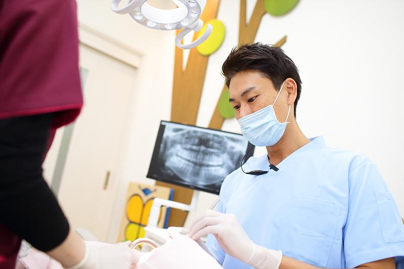 むし歯の予防のために